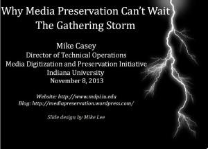 Media Preservation_Gathering Storm