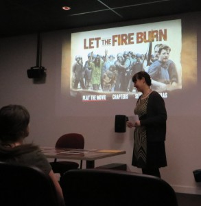 Let the Fire Burn screening